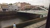 Calatrava bridge over the Liffey - Dublin