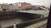 Calatrava bridge over the Liffey - Dublin
