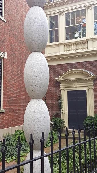 Outdoor sculpture RISD