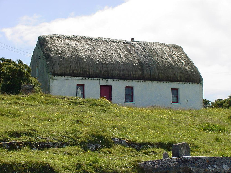 Thatched Cottage, Inishmore, Aran Islands Co. Galway