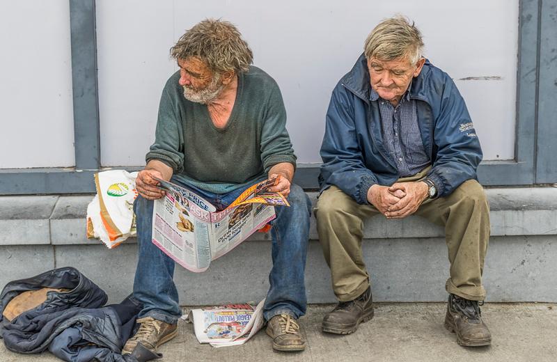 Two Old Irish Guys