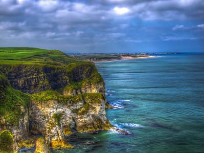 White Rocks of Northern Ireland