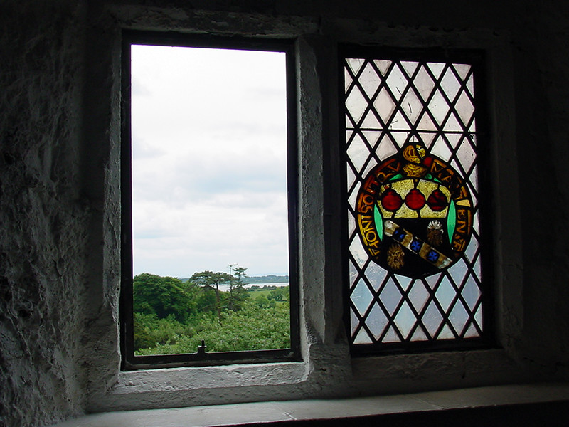 VIew from Bunratty Castle, Co. Clare