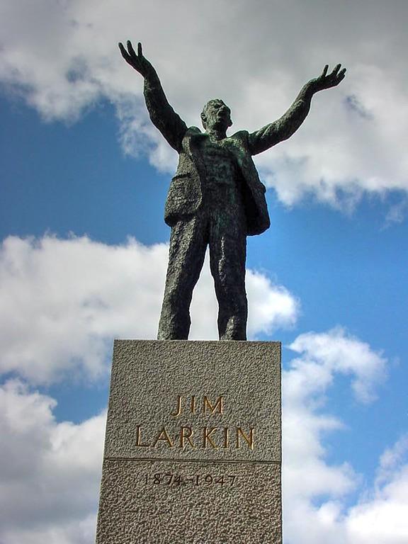 Jim Larkin statue, O'Connell Street, Dublin