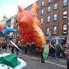 Owl balloon in the St. Patrick's Day Parade, Dublin