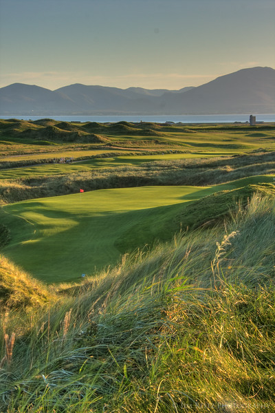 View of the 12th green at Tralee.