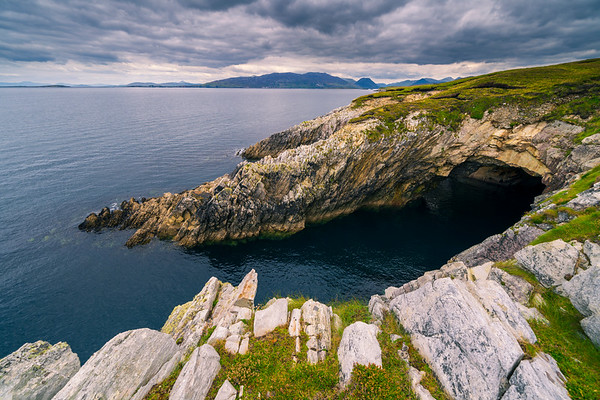 Cleggan Cliffs Dramatic Beauty