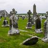 Clonmacnoise Graveyard