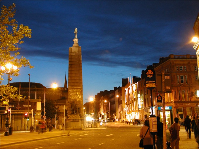 Parnell Square, Dublin, Ireland