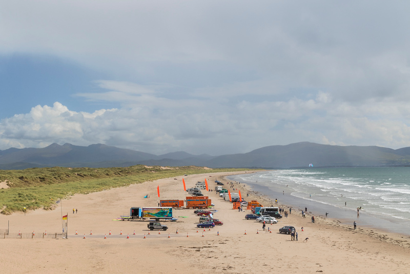 Beach on our way to Valentia