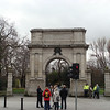 "Gate at the entrance to <a href=""http://en.wikipedia.org/wiki/St._Stephen's_Green"">St. Stephen's Green</a>, a park in Dublin"
