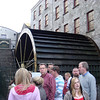 Water wheel at the Jameson distillery.