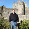 "Me in front of <a href=""http://en.wikipedia.org/wiki/Cahir_Castle"">Cahir Castle</a>. The oldest part of the castle dates to the 12th century."