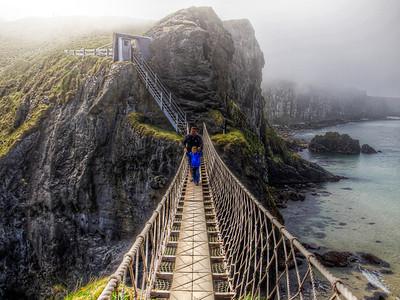 Carrick-a-Rede Rope Bridge Crossing