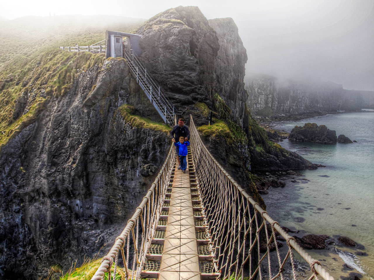Carrick-a-Rede Rope Bridge Crossing