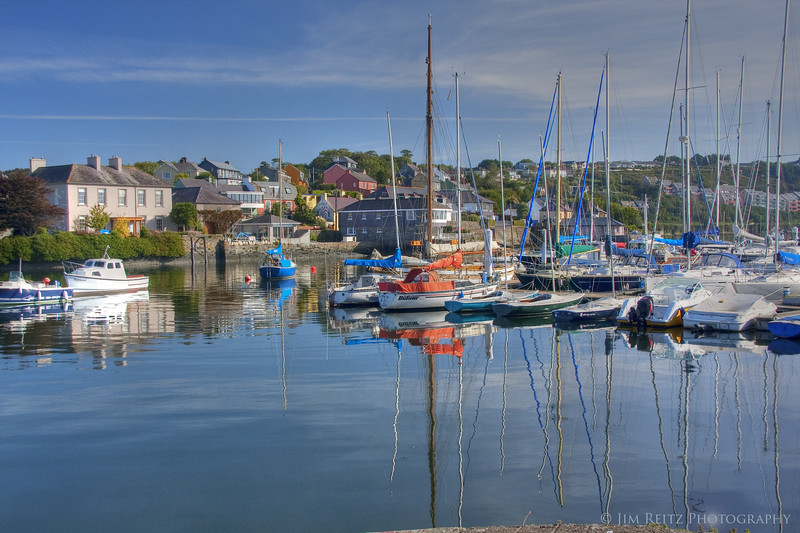Kinsale harbor view.