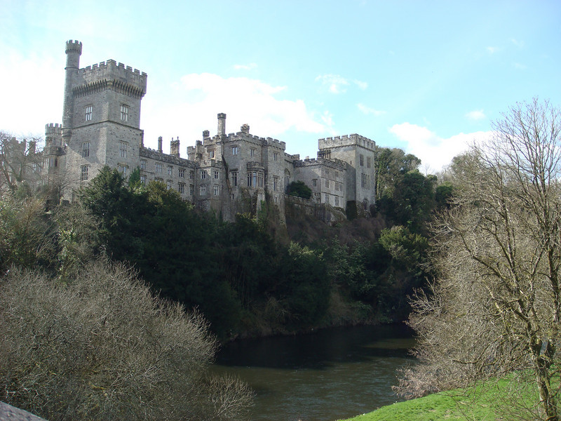 """<a href=""""http://www.lismorecastle.com/index.htm"""">Lismore Castle</a>.  We didn't go in, since the castle isn't open to the public."""
