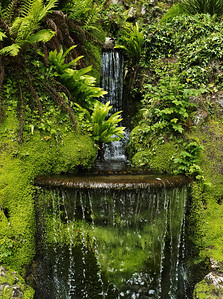 Waterfalls, Gardens of Powerscourt, County Wicklow
