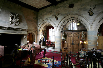 Great room of the Waterford Castle, Waterford city Ireland