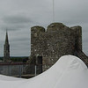 The roof of Trim Castle