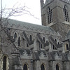 "<a href=""http://en.wikipedia.org/wiki/Christ_Church_Cathedral,_Dublin"">Christchurch Cathedral</a> belongs to the Church of Ireland, but is officially also the Roman Catholic Cathedral of Dublin.  Though the building was lost to the Church of Ireland during the Reformation, the Vatican never revoked its status as a cathedral.  St. Mary's Pro-Cathedral serves the function of a Catholic cathedral."