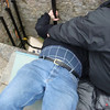 "Me kissing the <a href=""http://www.blarneycastle.ie/pages/stone"">Blarney Stone,</a> at the top of Blarney Castle."