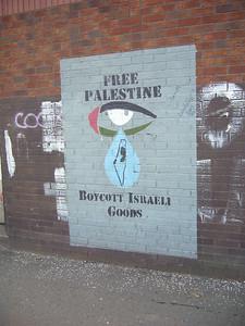 ira propaganda in western belfast