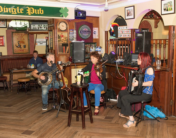 Irish Musicians in the Dingle Pub