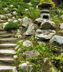 Wall, Gardens of Powerscourt, County Wicklow