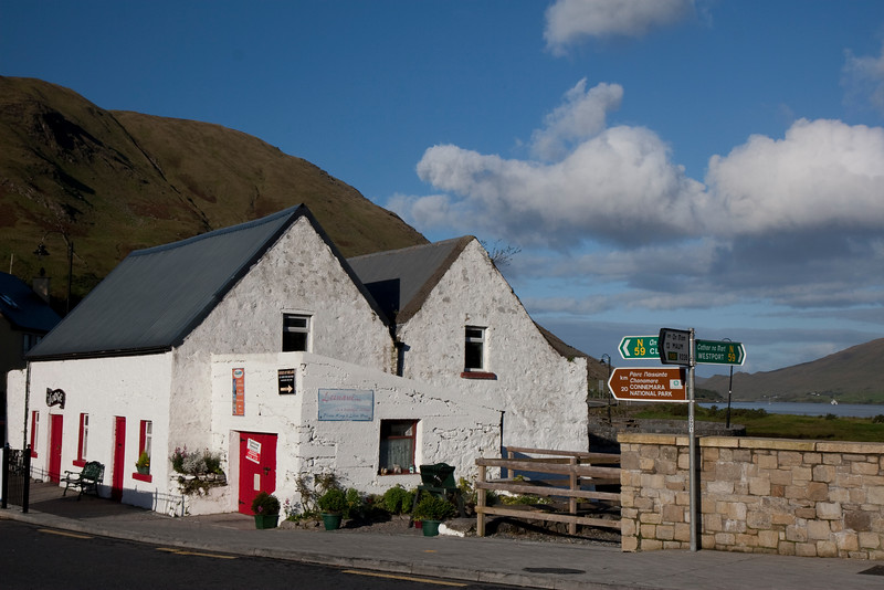 Leenane Village, Connemara Co. Galway