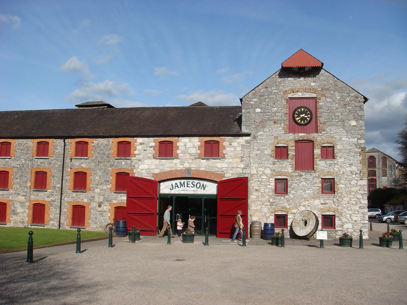 """""""The Jameson Experience"""" in Midleton, near Cork.  Once used as a distillery for Jameson Irish Whiskey, it no longer functions as such but does have tours."""