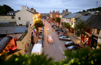View to the south from The White House, Kinsale, County Cork, Ireland.