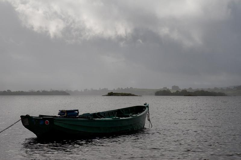 Boat on Lough Corrib, Connemara Co. Galway