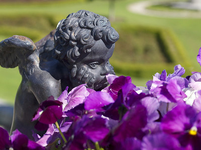 Powerscourt Garden Cherub