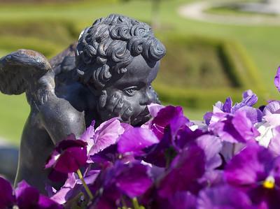Powerscourt Garden Cherub