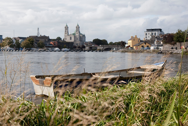 Looking across the Shannon at Athlone, Co. Westmeath