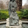 "Statue of the <a href=""http://en.wikipedia.org/wiki/Moirae"">Fates</a> in St. Stephen's Green."
