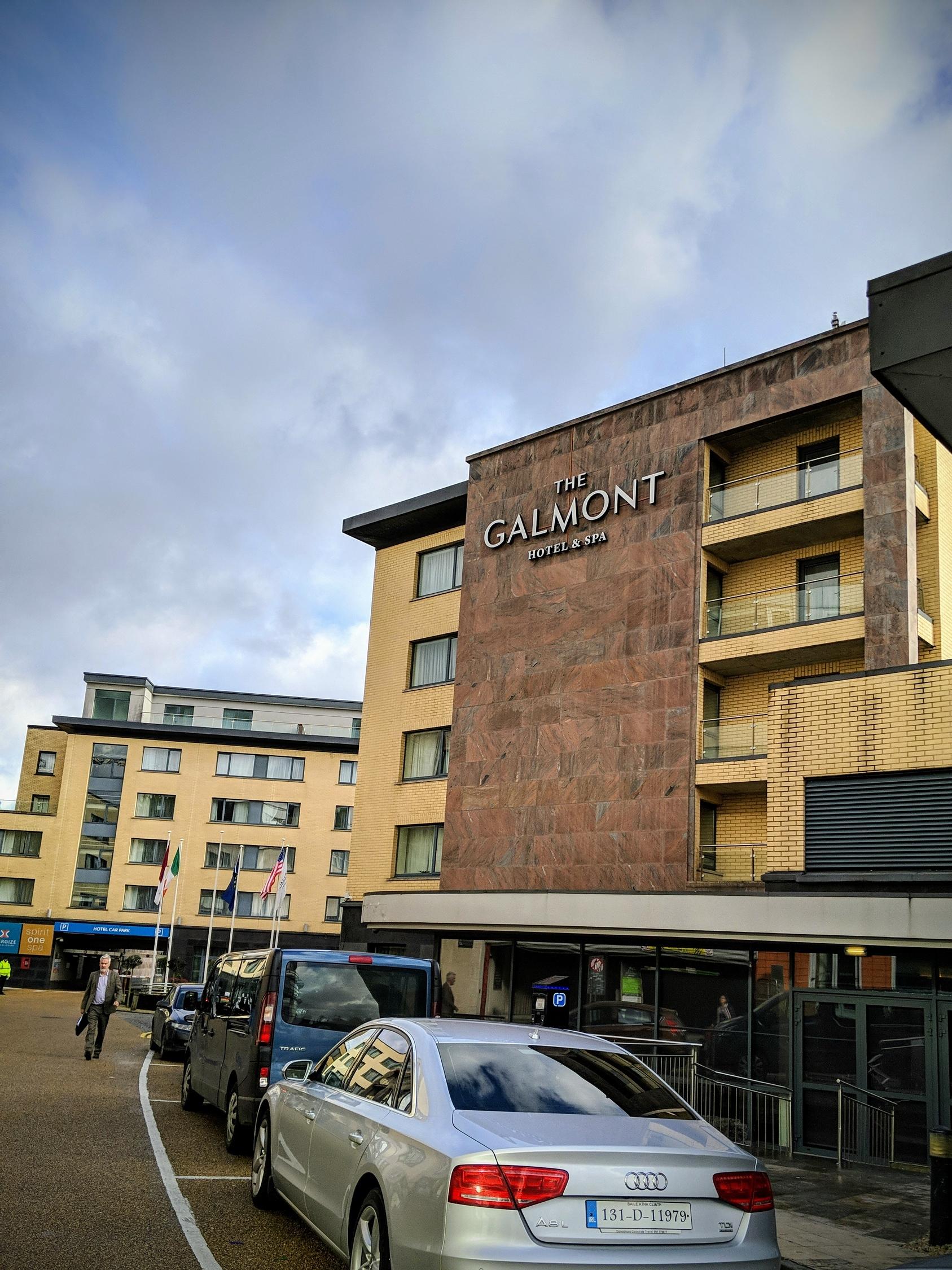 Galmont Hotel in Galway Ireland exterior.