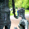 Irish Famine Memorial, St. Stephens Green, Dublin