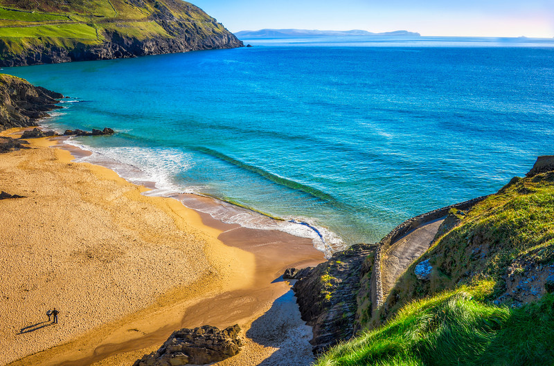Ireland, Dingle Peninsula <br /> <br /> 7 image HDR