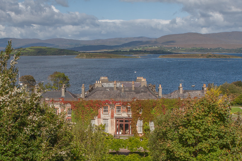 Bantry House overlooking Bantry Bay, Co. Cork