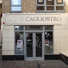 The Caffe Cagliostro in a region of Dublin that seemed to have a lot of Italian restaurants