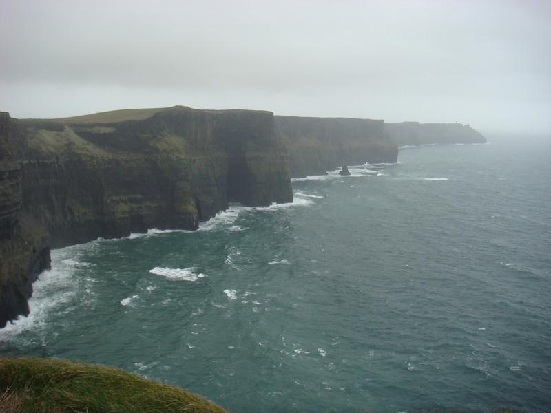 "The <a href=""http://en.wikipedia.org/wiki/Cliffs_of_Moher"">Cliffs of Moher</a>"