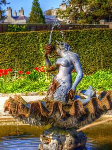 Mermaid Fountain at Powerscourt Estate