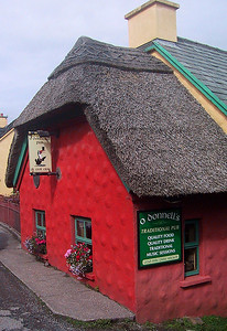 O'Donnel's Pub in Cloghane, County Kerry, Ireland.