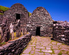 Beehives - ancient monastic settlement on Skellig Michael, off Coast of County Kerry.