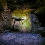 Loughcrew Passage Tomb Interior