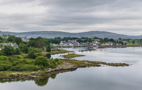 Kinvara in County Galway