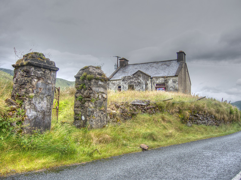 Bina's Cottage, Leenane, County Galway Ireland.