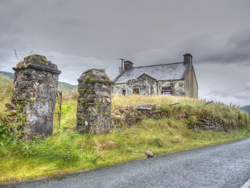 Bina's Cottage, Leenane, County Galway Ireland.